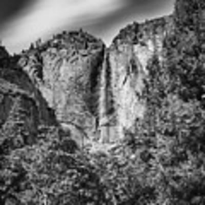 Yosemite Falls Art Print by Chris Cousins