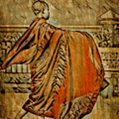 Young Buddhist Monk Art Print by Lita Kelley