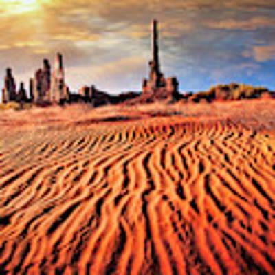 Totem Dunes Art Print by Scott Kemper