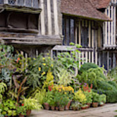 Great Dixter House And Gardens Art Print by Perry Rodriguez