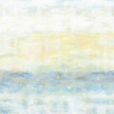 40x40 Minimalist Painting 2of2 Art Print by Gordon Punt