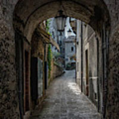 Alleys Of San Marino Art Print by Jaroslaw Blaminsky
