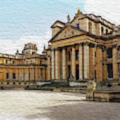 Blenheim Palace Number 2 Art Print by Joe Winkler