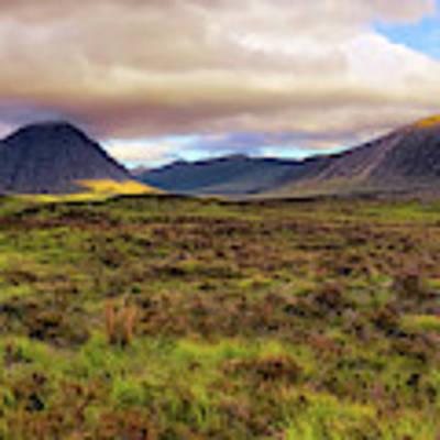 Buachaille Etive Mor From Rannoch Moor - Scotland - Landscape Art Print by Jason Politte
