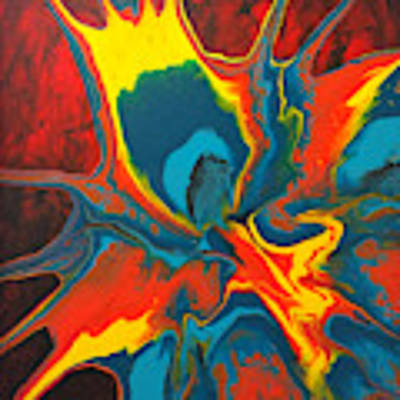 Centrifugal Interaction 2 Art Print by Lon Chaffin