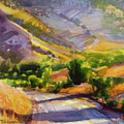 Columbia County Backroads Art Print by Steve Henderson