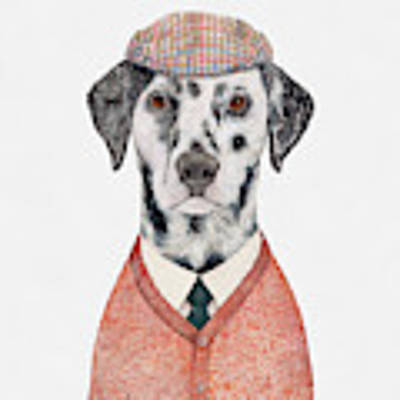 Dalmatian Art Print by Animal Crew
