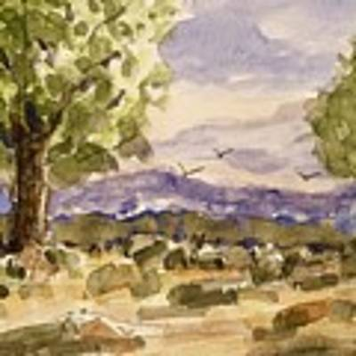 Desolate Art Print by Barry Jones