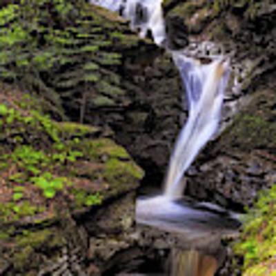 Falls Of Acharn - Perthshire Scotland - Waterfall Art Print by Jason Politte