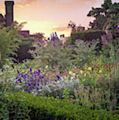 Great Dixter Perennial Border Art Print by Perry Rodriguez