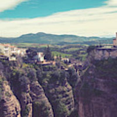 historical village of Ronda, Spain Art Print by Ariadna De Raadt
