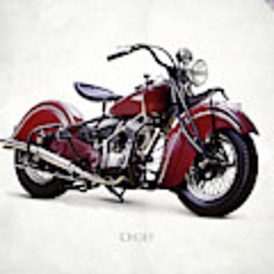 Indian Chief 1941 Art Print by Mark Rogan