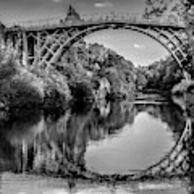 Iron Bridge Shropshire  Art Print by Adrian Evans