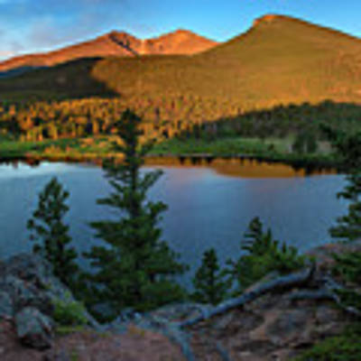Lily Lake Overlook Art Print by Expressive Landscapes Fine Art Photography by Thom