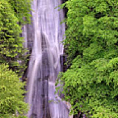 Lower Falls Of Acharn - Perthshire Scotland - Waterfall Art Print by Jason Politte