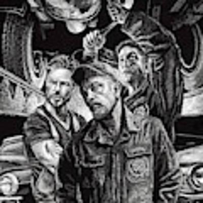 Mechanics Art Print by Clint Hansen