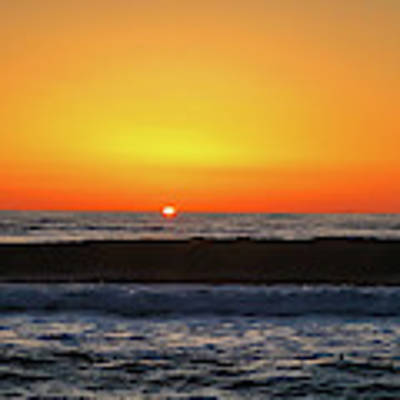 Mike's First Sunrise Art Print by Mike Hudson