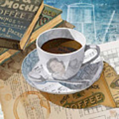 Morning Coffee Art Print by Clint Hansen