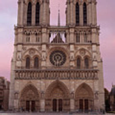 Notre Dame Cathedral Dawn Art Print by Jemmy Archer