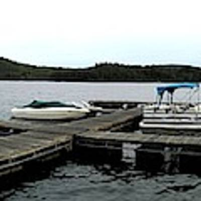 Panorama Of Schroon Lake In The Adirondack Mountains In New York Art Print by Rose Santuci-Sofranko