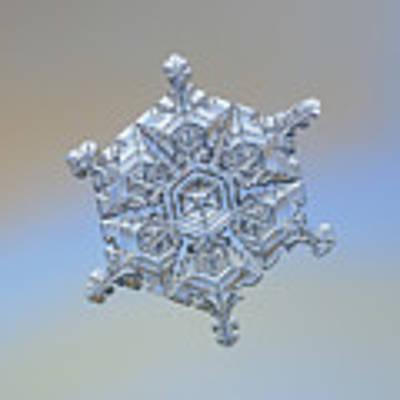 Real Snowflake - 05-feb-2018 - 18 Art Print by Alexey Kljatov