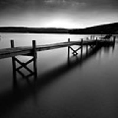 Serenity On The Lake Art Print by Expressive Landscapes Fine Art Photography by Thom