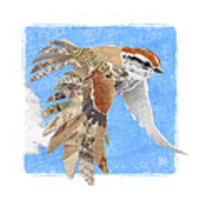 Sparrow Art Print by Clint Hansen