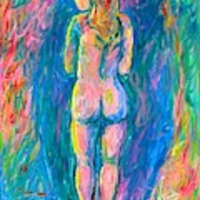 Standing Shadows Art Print by Kendall Kessler