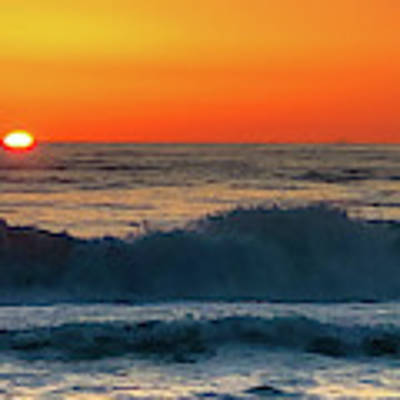 Sunrise First Day Art Print by Mike Hudson