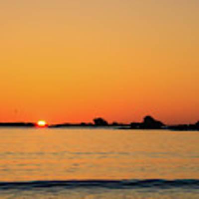 Sunset Over Sunset Bay, Oregon 4 Art Print by Dawn Richards