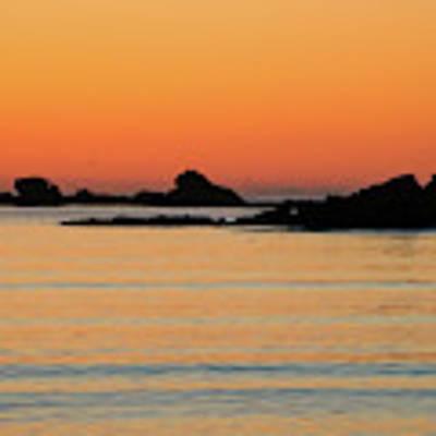 Sunset Over Sunset Bay, Oregon 5 Art Print by Dawn Richards