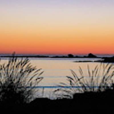 Sunset Over Sunset Bay, Oregon 6 Art Print by Dawn Richards