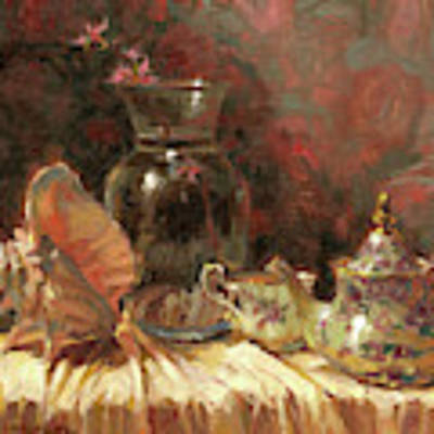 Tea By The Sea Art Print by Steve Henderson