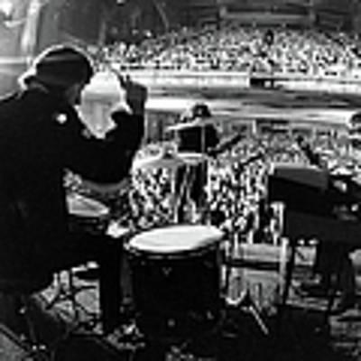 The Doors Drummer John Densmore, Singer Art Print by Yale Joel
