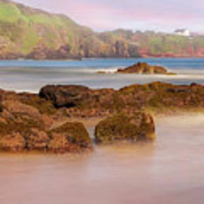 The Sea Fog Of St Cyrus - Scotland - Rock Hall Fishing Station Art Print by Jason Politte