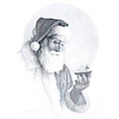 The Spirit Of Christmas Vignette Art Print by Greg Olsen