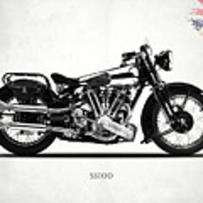 The Ss100 1938 Art Print by Mark Rogan