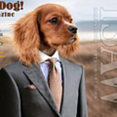 Top Dog Magazine Art Print by ISAW Company