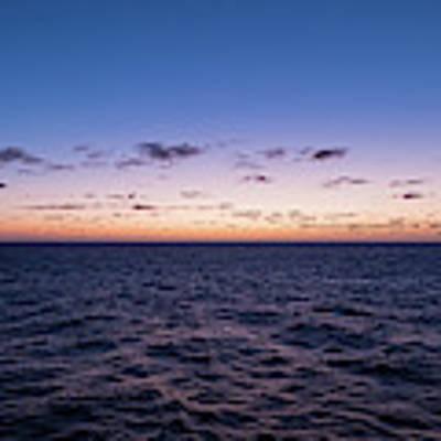 Twilight At Sea II Art Print by William Dickman