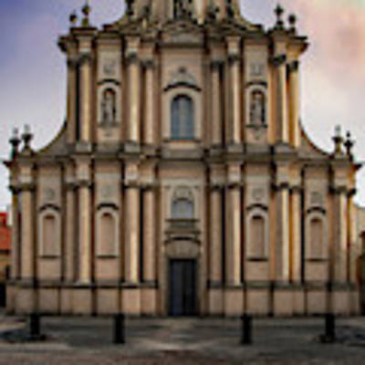 Ordo Visitationis Beatissimae Mariae Virginis Church  Art Print by Jaroslaw Blaminsky