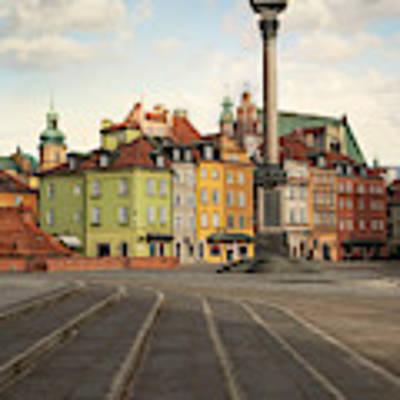 Warsaw - The Old Town Art Print by Jaroslaw Blaminsky