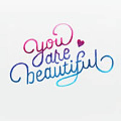 You Are Beautiful Original by Luca Budofsky