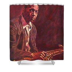 A Love Supreme - Coltrane Shower Curtain