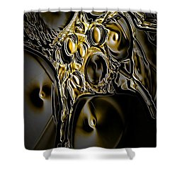 Abstraction190-03-13 Marucii Shower Curtain