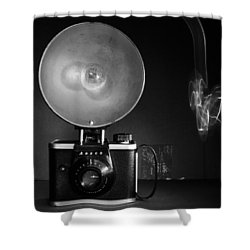 Ansco Camera Shower Curtain