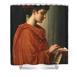Barine Shower Curtain by Sir Edward John Poynter