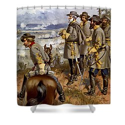 Battle Of Fredericksburg Shower Curtain by American School