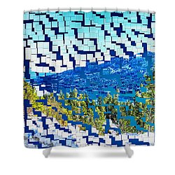 Breaking Away To Donner Lake Shower Curtain