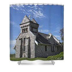 Church In New Zealand Shower Curtain