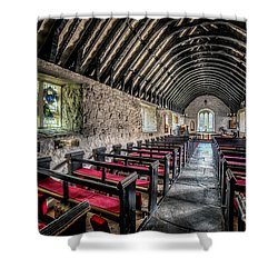 Church Of St Mary Shower Curtain by Adrian Evans
